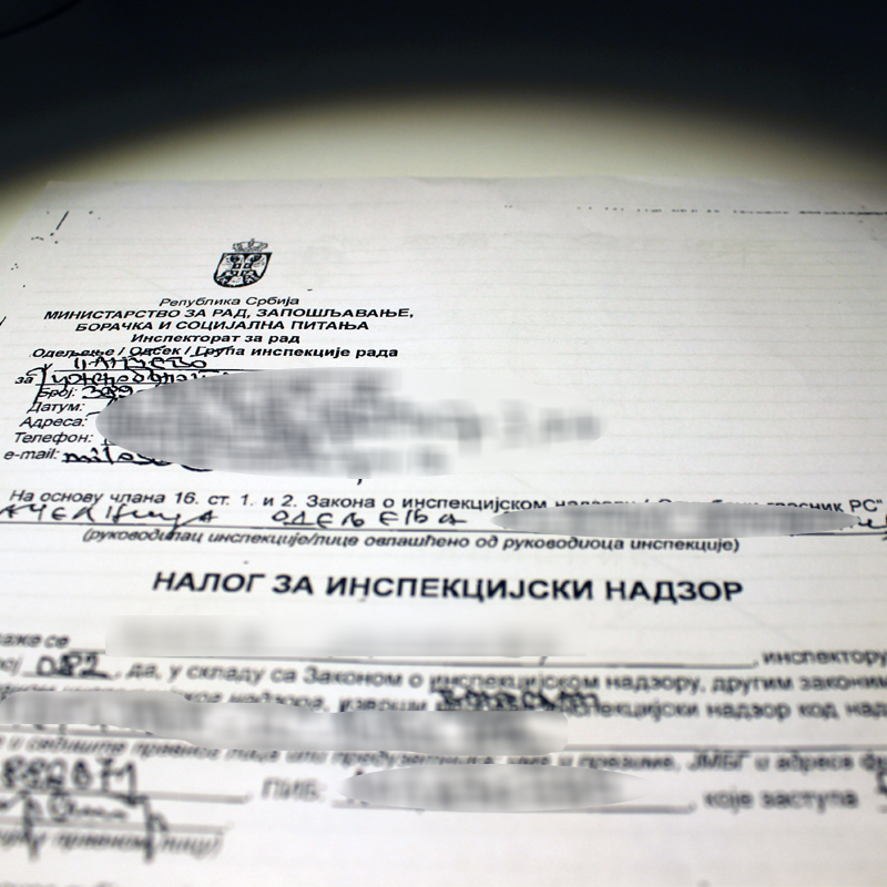 Međunarodna organizacija rada: Inspektori moraju da vrše nadzor nenajavljeno